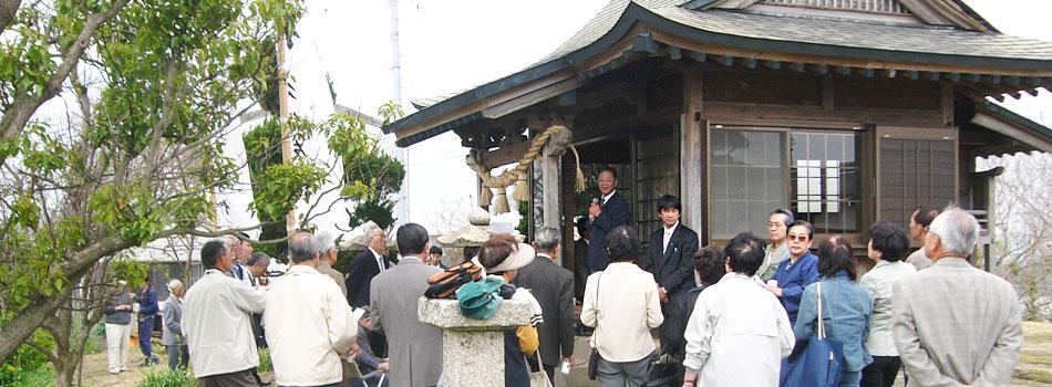 初詣のお誘い 妻崎恵美須神社