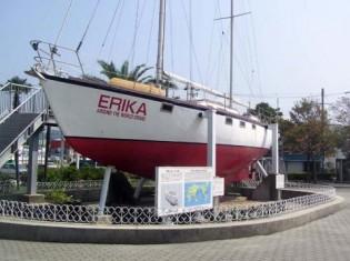 世界一周したヨット「エリカ」号が解体されます。とても残念です!