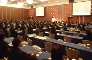 登山家の栗城史多さんと講演をさせて頂きました。(東京ドームホテルにて)