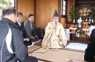 妻崎恵美須神社の「春祭り」。桜、晴天、無風に恵まれて楽しい一日を過ごしました。