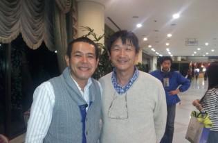 「2012韓国・慶州さくらマラソン」に後援会のメンバー6人で参加。4.7