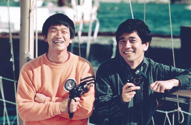 石坂浩二さんと共演したキャノン「オートボーイ2」(1984年)のテレビCMの映像を発見しました。