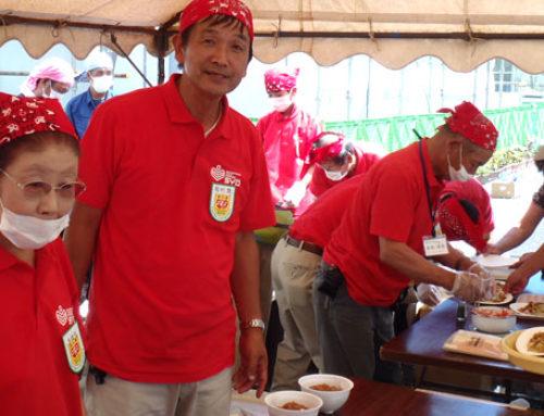 東日本大震災支援「炊き出しボランティア実践隊」16名参加 8.18-21
