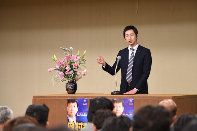 平成27年4月7日 総決起大会 (JA厚南支店)
